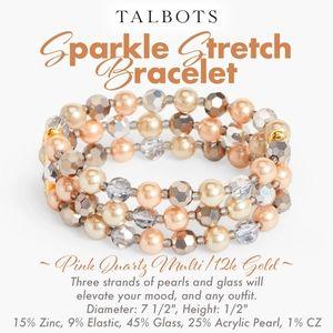 Talbots Sparkle Stretch Bracelet